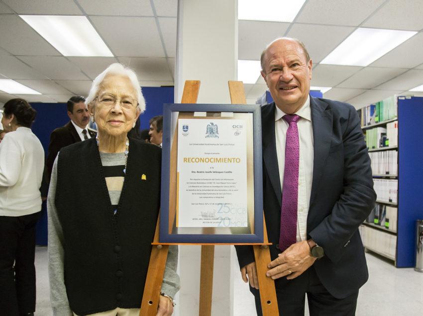 Doctora Beatriz Velásquez, impulsora tenaz del conocimiento: Rector de la UASLP