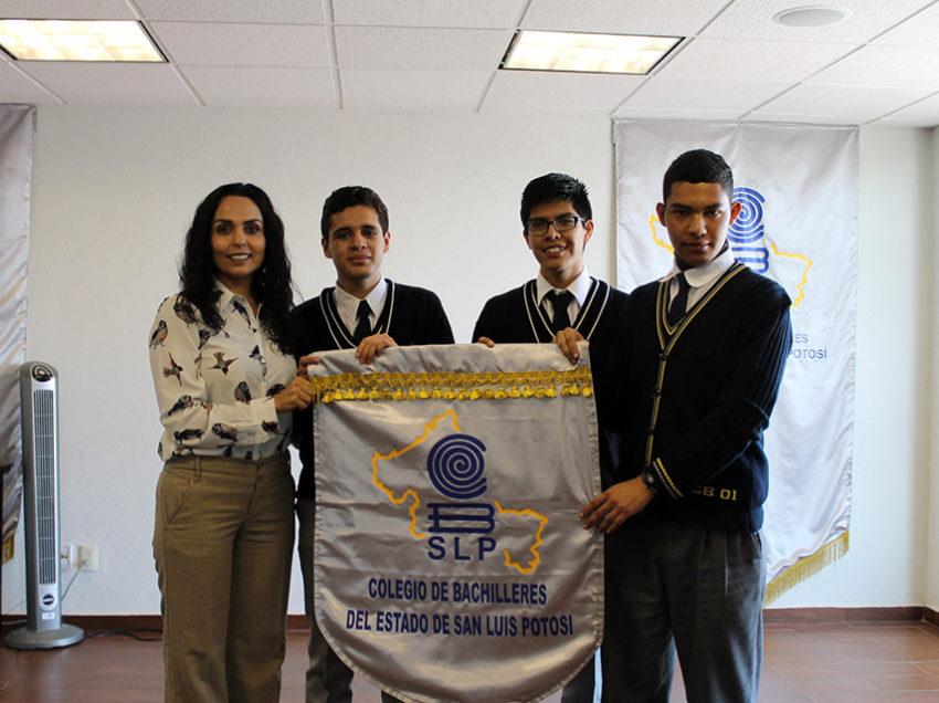 Estudiantes del Cobach a olimpiadas nacionales e internacionales