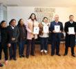 Entrega SEGE a CEGAIP, ley estatal de transparencia traducida a Tének y Náhuatl