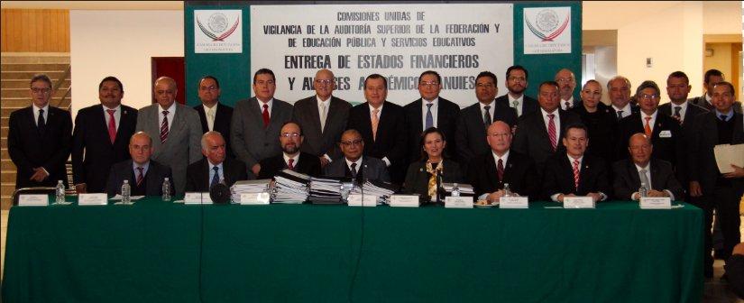 UASLP entregó estados financieros auditados al Congreso de la Unión