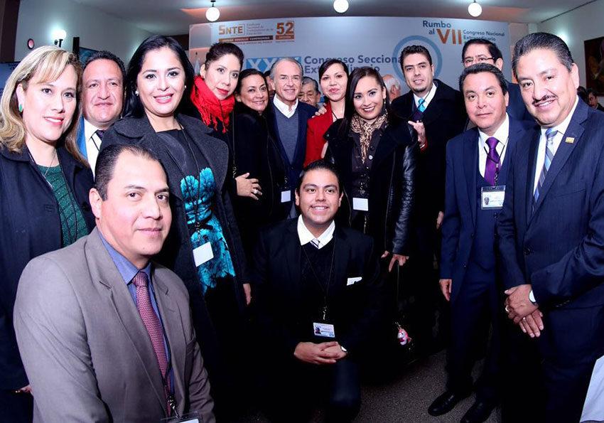 Inauguran Congreso Extraordinario de la Sección 52 del SNTE