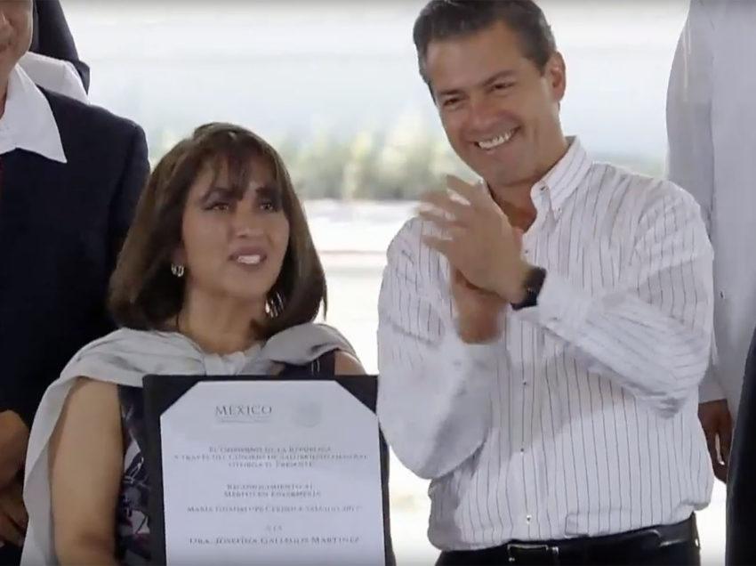 Reconoce Peña Nieto a investigadora potosina