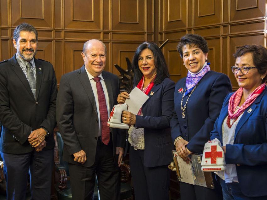 UASLP, inicia colecta 2018 en apoyo a la Cruz Roja Mexicana