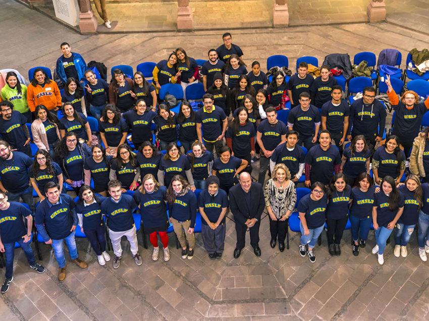 UASLP recibe a 108 estudiantes de movilidad para el ciclo enero–julio 2018