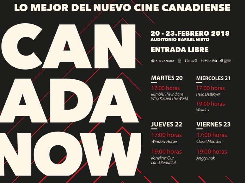 Cine Club de la UASLP presenta Semana de Cine Canadiense