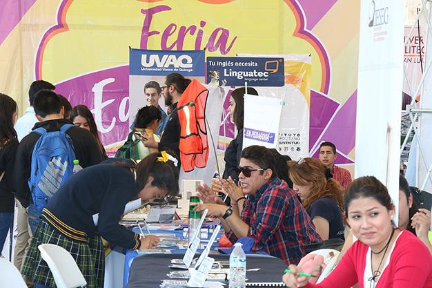 Más de dos mil jóvenes acudieron a la Feria Educativa Universitaria