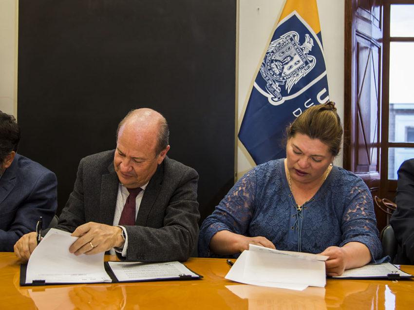 La Máxima Casa de Estudios Potosina y la UAPA firmaron incremento salarial y nuevo contrato colectivo de trabajo