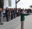 Juran más de 5 mil alumnos honrar y defender a la bandera