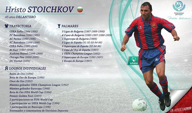 Stoichkov jugará Partido por la Paz a disputarse en SLP