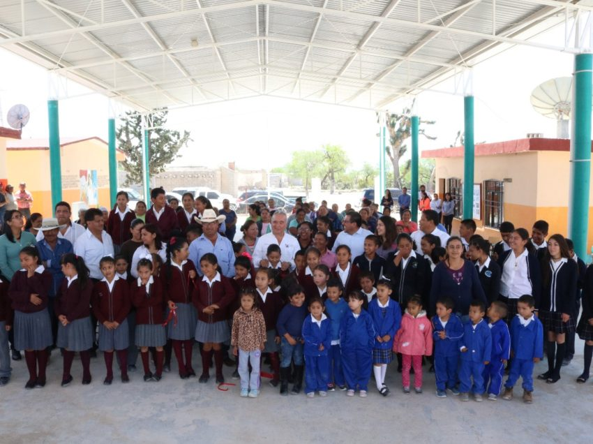 Continúa gobierno estatal fortaleciendo infraestructura física educativa en el altiplano
