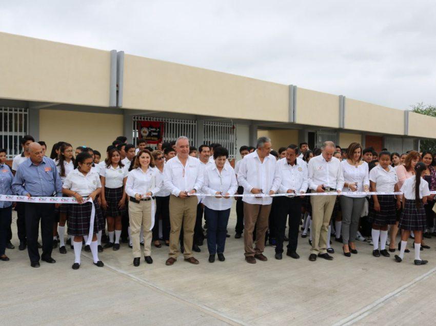 Con inversión histórica, se mejora la educación de la Huasteca Norte