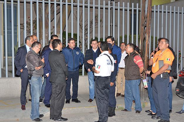 DGSPM refuerza vigilancia cerca de los planteles de la UASLP