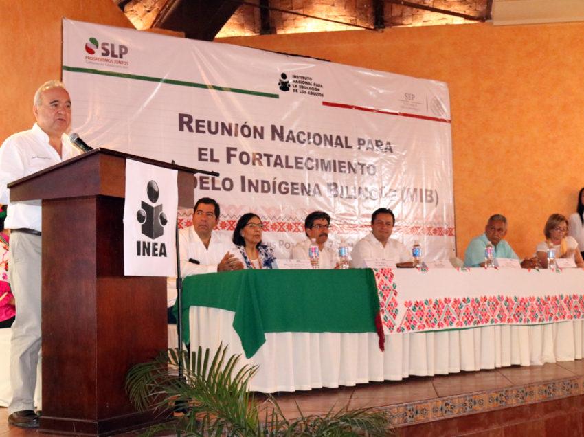 SLP, sede de reunión nacional para combatir el analfabetismo