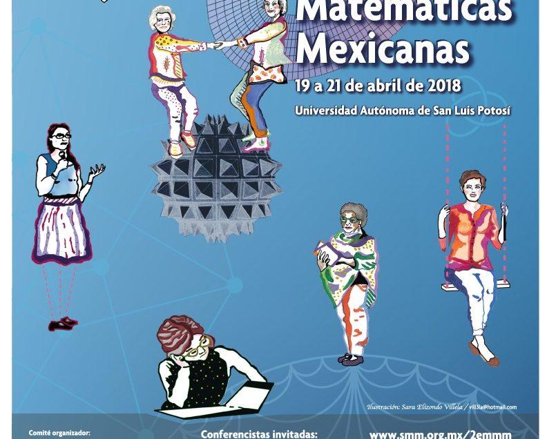 UASLP sede del 2do Encuentro de Mujeres Matemáticas Mexicanas