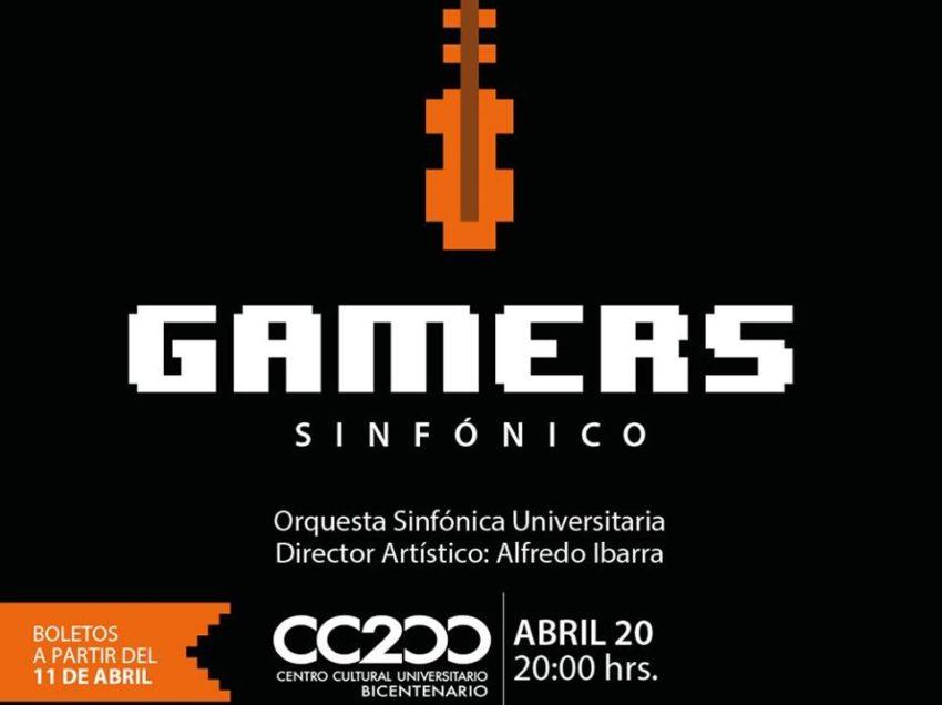 OSU de la UASLP ofrecerá concierto: Gamers Sinfónico