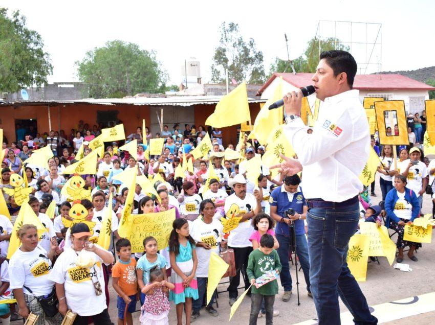 Garantizaré recursos para obra social en municipios: RGC