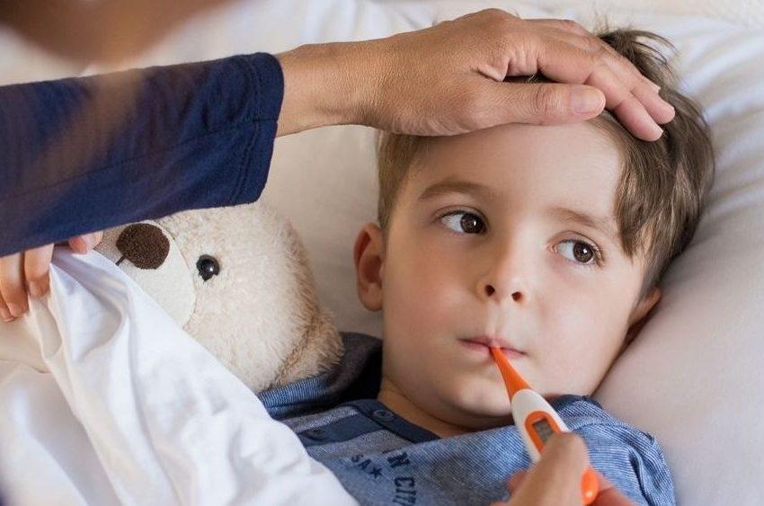 ¿Qué hacer cuando un niño tiene fiebre?
