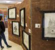 Estudiantes de la FCI Inauguran exposición Arquitectura y Arte Potosino