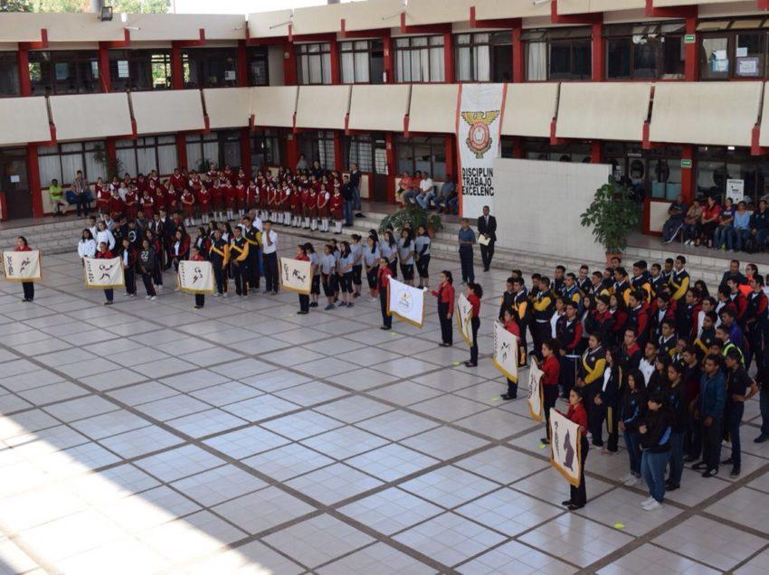 Abanderan delegación de deportistas  rumbo a los juegos Conadems