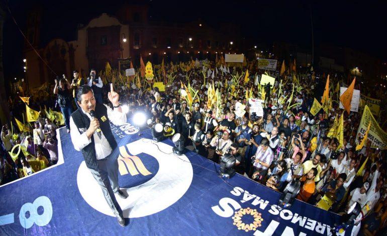 Ricardo Gallardo Juárez suma 100 pavimentaciones más a su plan original de 300 vilaidades