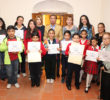 Premian a ganadores del concurso 'Pintando mi Centro histórico'