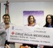 Cobach entrega donativo a la cruz roja