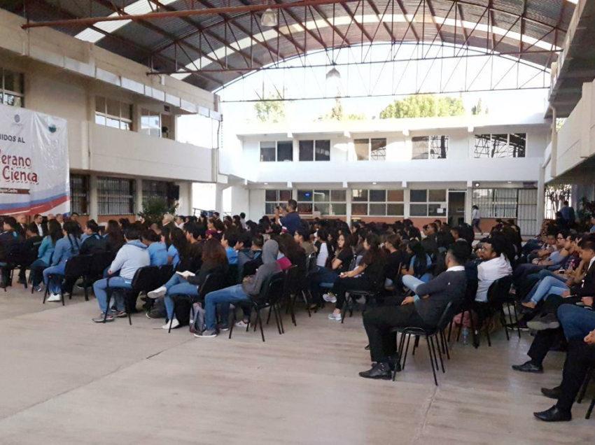Escuelas formadoras de docentes de SLP, primeras en el país en participar en verano de la ciencia