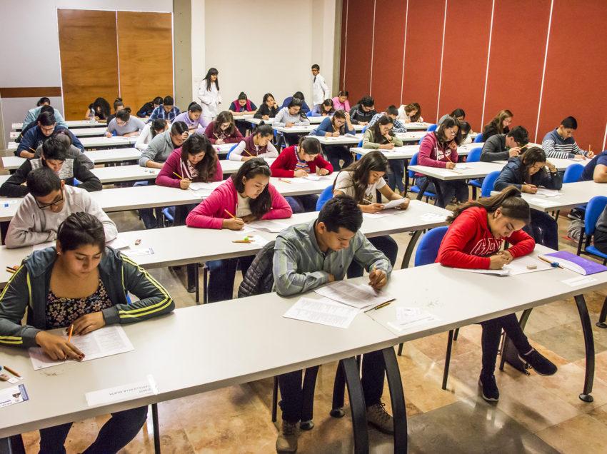 En calma la UASLP llevó a cabo el examen de admisión para el ciclo 2018-2019