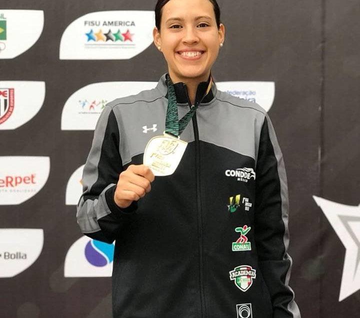 Alumna de la UASLP, medalla de oro en juegos panamericanos
