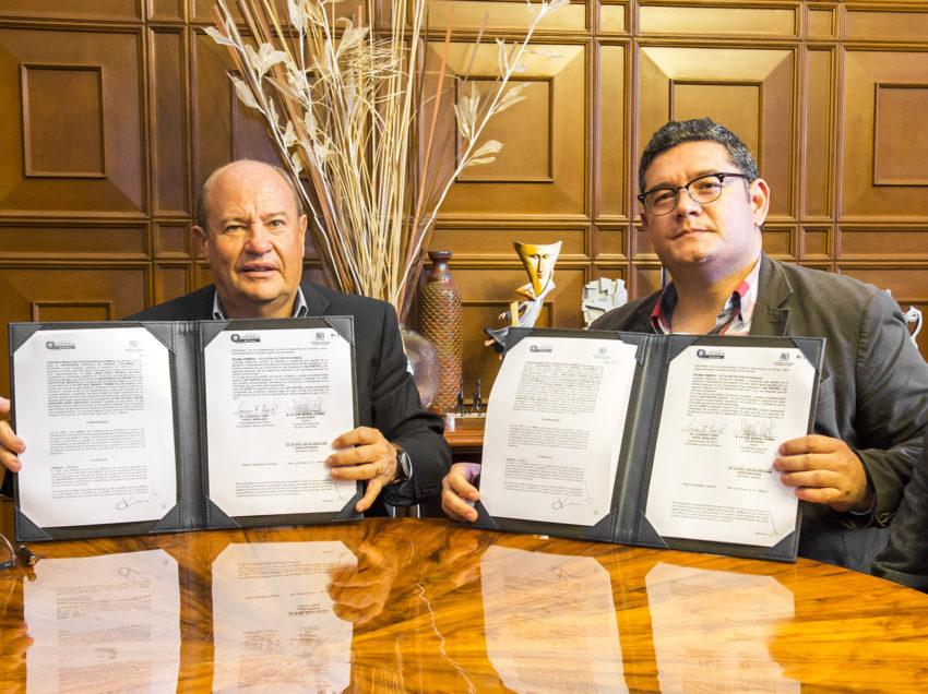 UASLP establece alianza de colaboración internacionalcon Universidad Colombiana