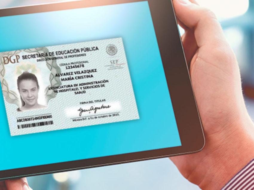 UASLP se suma a la digitalización de la cédula profesional