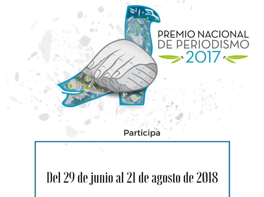 Consejo Ciudadano del Premio Nacional de Periodismo convoca a periodistas potosinos a participar en la edición 2018