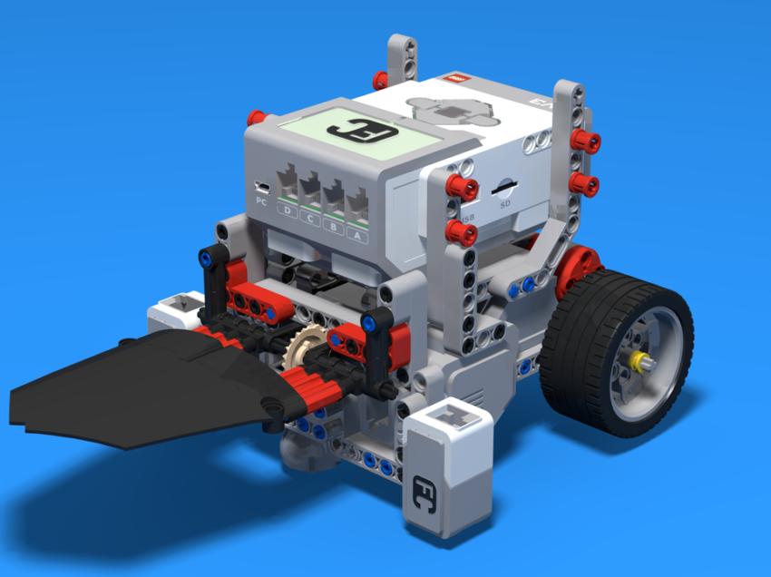 Universitario elabora robot movil como sistema de seguridad