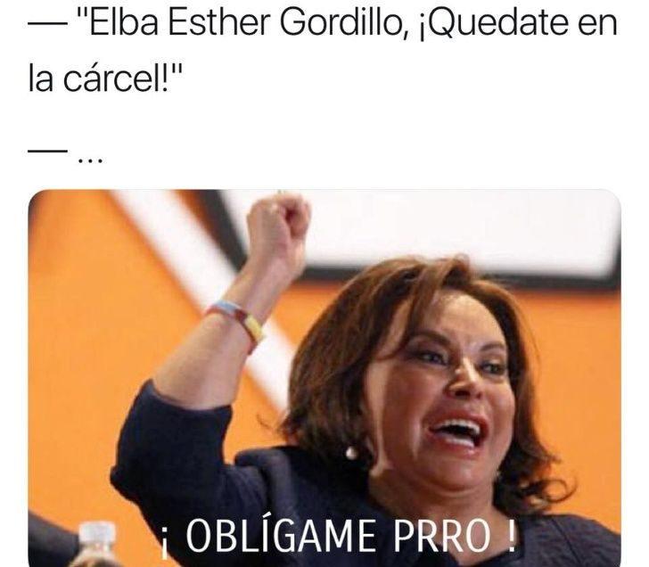 Elba Esther y sus mejores memes