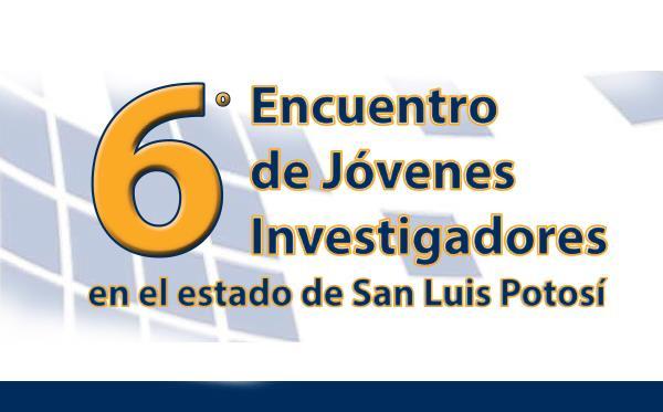 UASLP Invita a participar del 6to Encuentro de Jóvenes Investigadores