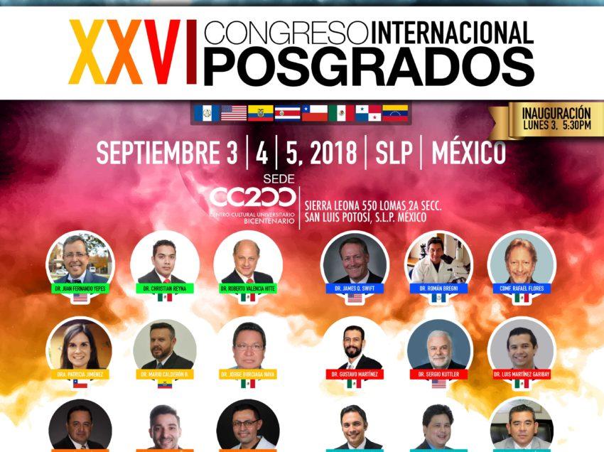 Lista la UASLP para recibir al 1er Congreso Nacional de Psicólogos sin fronteras