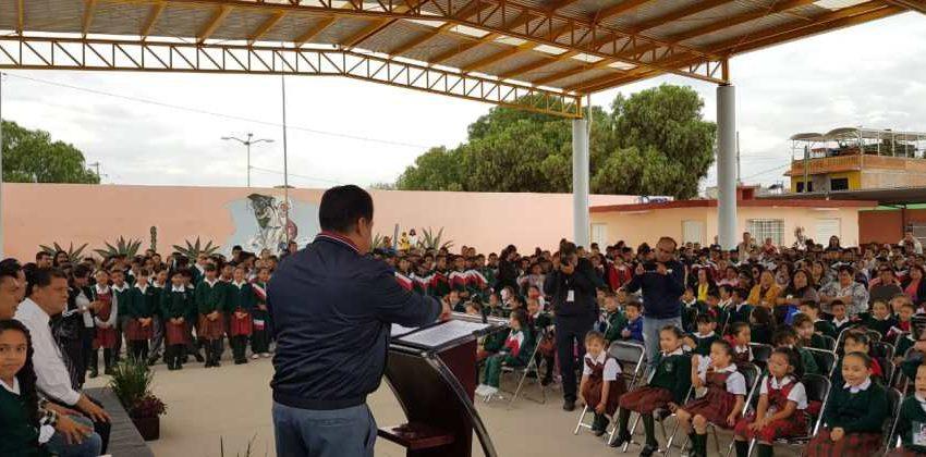 Techado en escuela de Soledad beneficiará a 800 alumnos