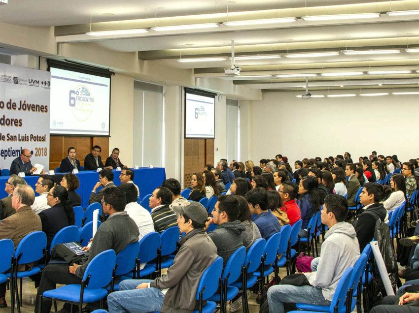 Inicia en la UASLP 6o Encuentro de Jóvenes Investigadores