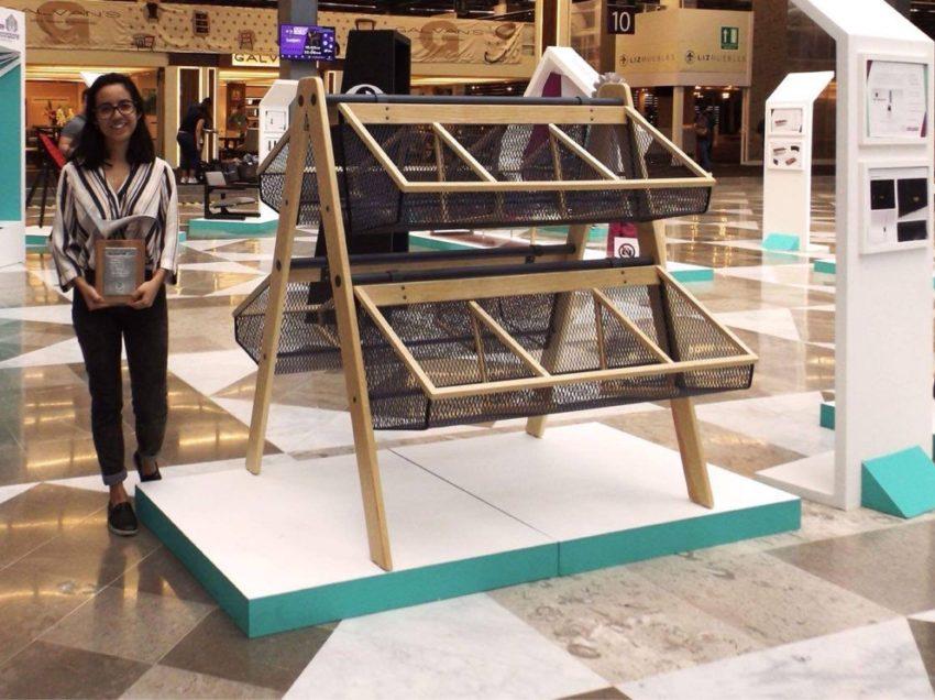 Universitaria obtiene reconocimiento en Concurso Nacional de Diseño de Mueble