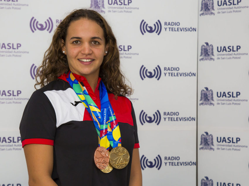 María José Mata Cocco Universitaria de alto desempeño deportivo y Académico