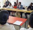 Estrecha coordinación con directores, maestros y alumnos de escuelas de Soledad