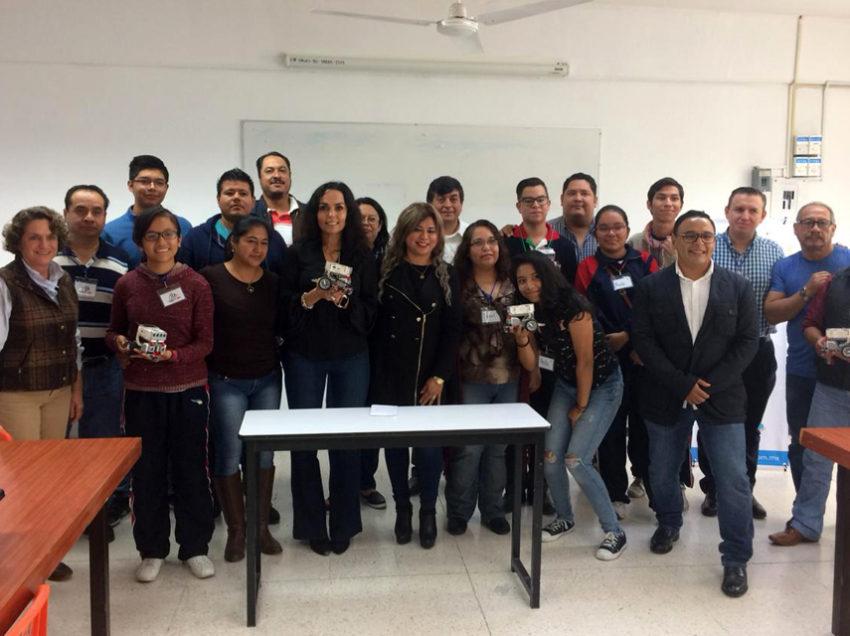 Inicia actividades club de robótica del plantel 26 del Cobach