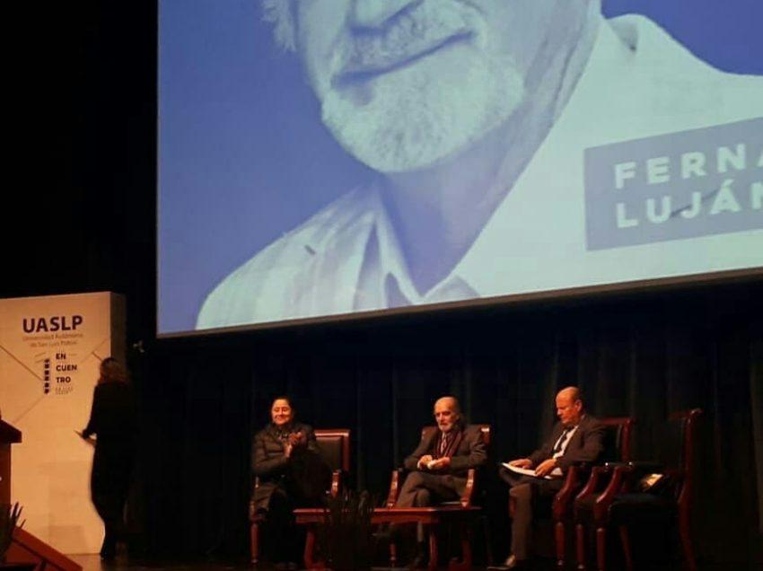 Uaslp rinde homenaje al primer actor Fernando Luján