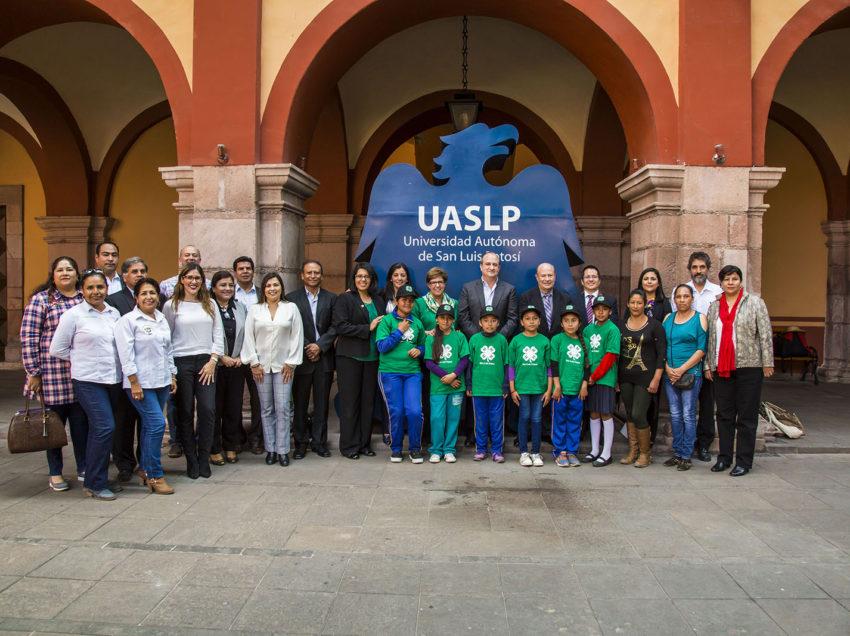 UASLP y SEDARH firman convenio con la Universidad de California en apoyo al campo potosino