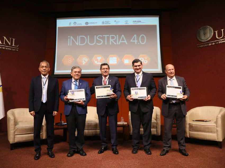 Rector de la UASLP participa en el 2do. Workshop-Coloquio Industria 4.0 que organizó la UANL