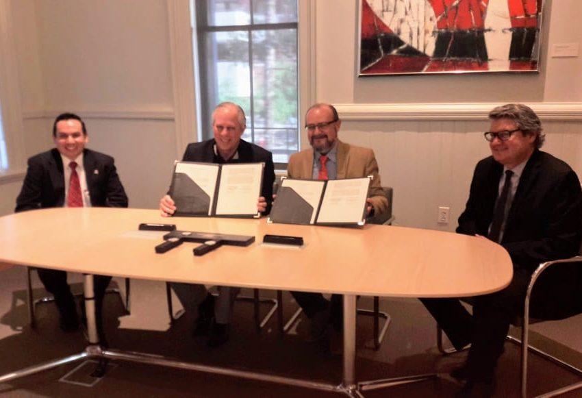 Firma Convenio El Colsan con Universidad de Arizona para colaboración académica