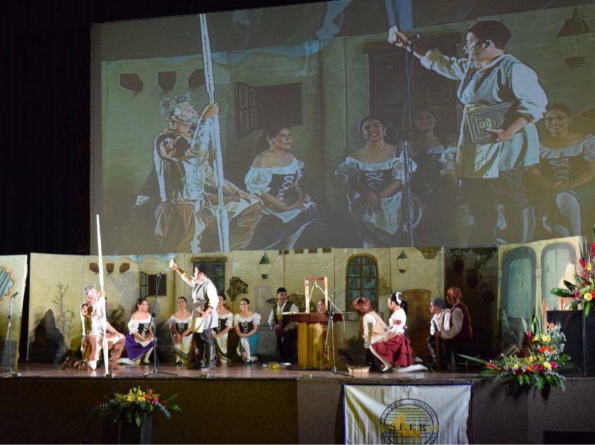 Inauguran el XXV encuentro cultural de la juventud preparatoriana