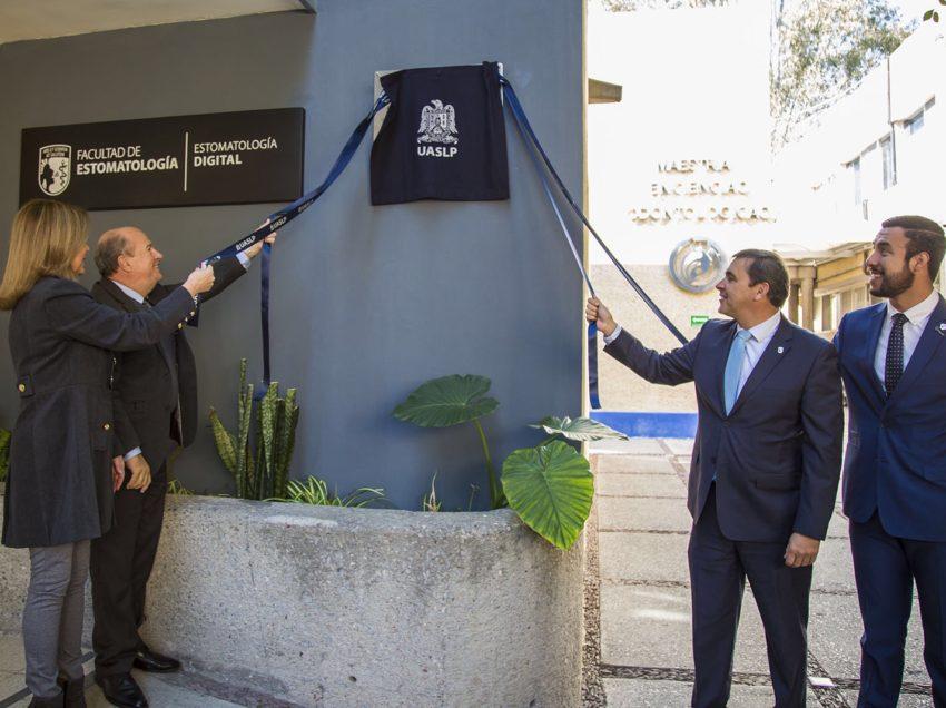 Inaugura UASLP Laboratorio de Estomatología Digital
