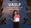 Alumna de la UASLP, 1er lugar en foro internacional de seguridad alimentaria