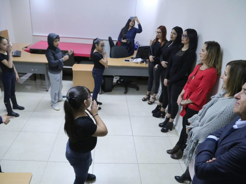 """Visita Beatriz Gutiérrez Müller el """"Centro para la vida"""""""